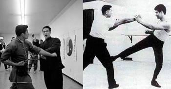 Bruce abre la academia para enseñar Kung-fú