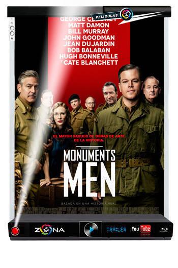 Película The Monuments Men 2014