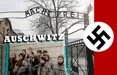 sobre campo de concentración Auschwitz
