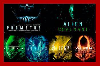 Explicación sobre la saga de cine Alien